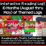 Reading Logs Activities: Back to School until End of Year