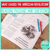 Reading Passage Test Practice - What Caused the American R