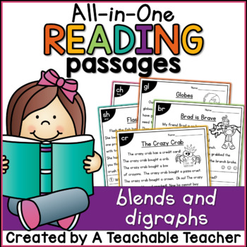 Reading Passages - Blends & Digraphs
