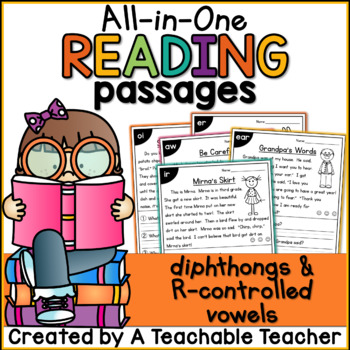 Reading Passages - Diphthongs and R-Controlled Vowels
