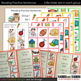 Reading Practice Sentences Group 1