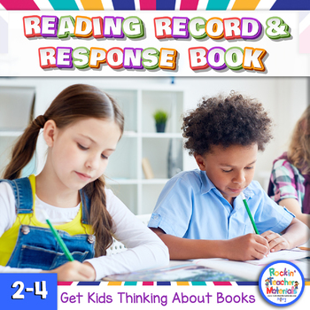 Reading Record and Response Book with Graphic Organizers