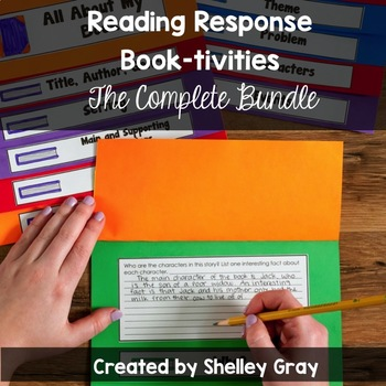 Reading Response Book-tivities: The Bundle