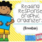 Reading Response Graphic Organizers {Freebie}
