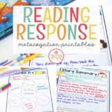 Reading Response Printables for Little Readers