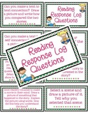 Reading Response Log Questions and Sheets