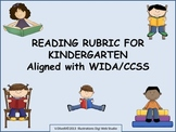 Reading Rubric Aligned with CCSS/WIDA