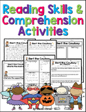 Reading Skills and Comprehension Activities (Common Core)
