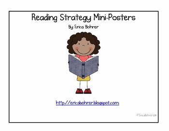 Reading Strategies - Mini-Posters