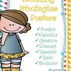 ~Freebie~ Reading Strategies Posters