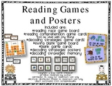Reading Strategies and Comprehension Games and Posters