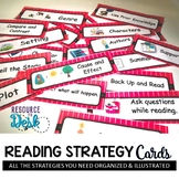 Reading Strategy Cards - 1&2 Grade Ladybug Fun