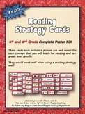 Reading Strategy Cards - 1&2 Grade Western Round Up