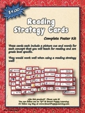 Reading Strategy Cards - Kinder Western Round Up