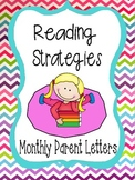Reading Strategy Letters Bundle for Homework