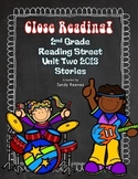 Reading Street  2nd Grade Close Reading 2013 Unit 2 (5 Sto