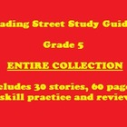 Reading Street 5th Grade Story Study Guides - Entire Collection