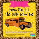 The Little School Bus: Editable Lesson Plan