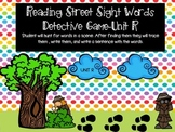 Reading Street Sight Word Detective Game- Unit R
