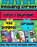 Reading Street Unit 1 Bundle Pack- Grade 1