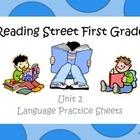 Reading Street Unit 2 Language Practice Sheets