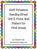 Reading Street Unit R Weeks 1-6 Focus Wall Posters: Grade 1