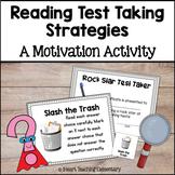 Reading Test Prep Strategies Motivation Pack