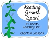 Reading Unit 1 2nd Grade Reading Growth Spurt Charts & Lessons