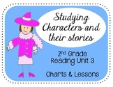 Reading Unit 3 2nd Grade Charts & Lessons