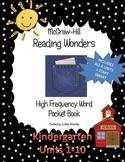 Reading Wonder High Frequency Word Pocket ( sticker) Book