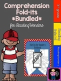 "ReadingWonders ""Bundled"" 3rd Grade Comprehension Fold-its"