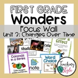 Reading Wonders First Grade Unit 3 Focus Wall