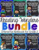 Reading Wonders Grade 2 Interactive Notebook GROWING Bundle