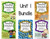 Reading Wonders Resources Grade 2  UNIT 1 BUNDLE (All 5 Weeks!)