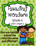Reading Wonders Resources, Grade 2, Unit 1, Week 2