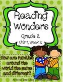 Reading Wonders Resources, Grade 2, Unit 1, Week 2