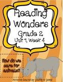 Reading Wonders Resources, Grade 2, Unit 1, Week 4