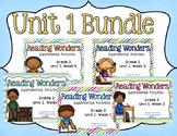 Reading Wonders Unit 1 BUNDLE for 2nd Grade