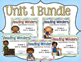 Reading Wonders Unit 1 BUNDLE for 2nd Grade