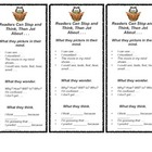 Reading Workshop Anchor Chart Bookmarks