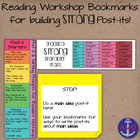 Reading Workshop Bookmarks with Thinking Prompts for Post-