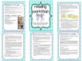 Reading Workshop setup and procedures