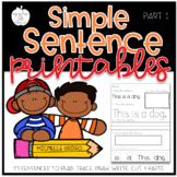 Reading and Printing Simple Sentences