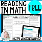 Reading in the Middle School Math Classroom