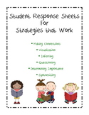 Reading response pages for each of the strategies that work