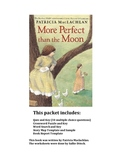 Reading worksheets for More Perfect than the Moon