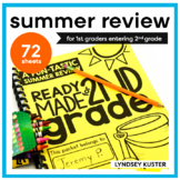 Ready Made for Second Grade! {Fun Summer Review Practice Pages}