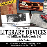 Identify Literary Terms from Real World Examples: A Task C