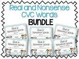 Real and Nonsense Words: CVC BUNDLE
