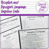 Receptive & Expressive Language Baseline Data!
